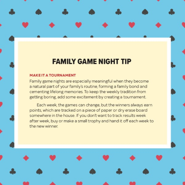 family game night tip