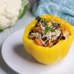 Italian Keto Stuffed Bell Peppers