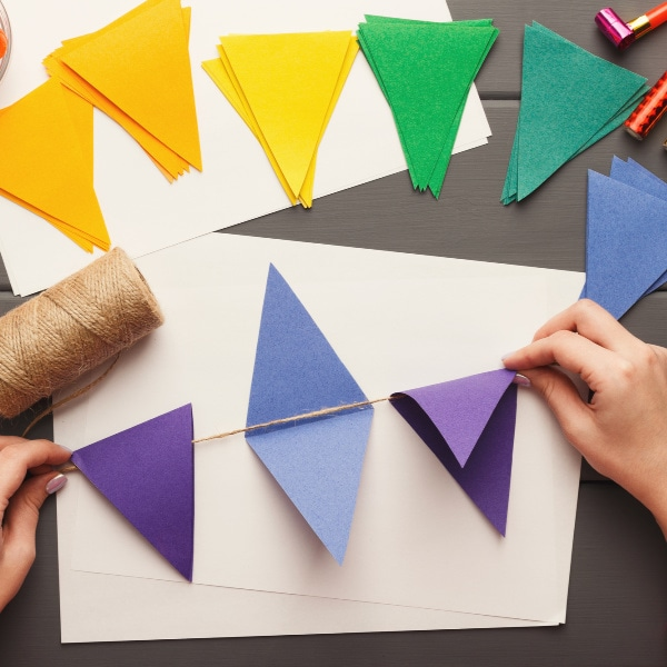how to make a birthday party banner