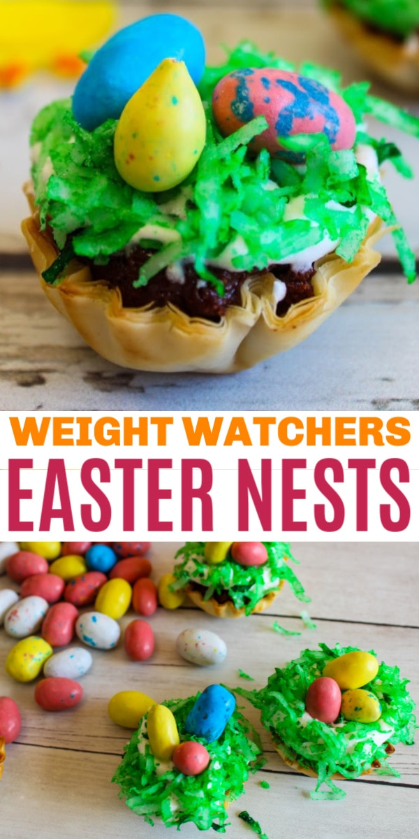 Weight Watchers Easter Nests