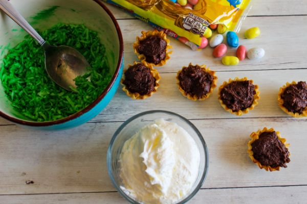 how to make Weight Watchers Easter Nests