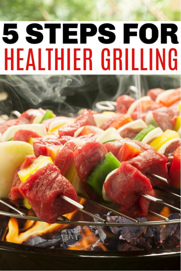 easy steps to healthier grilling