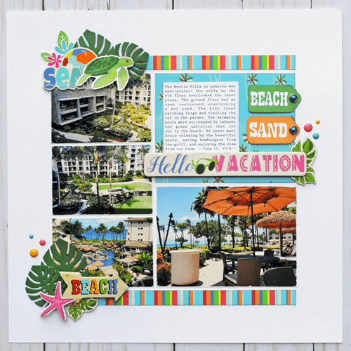Beach Sand Vacation Layout