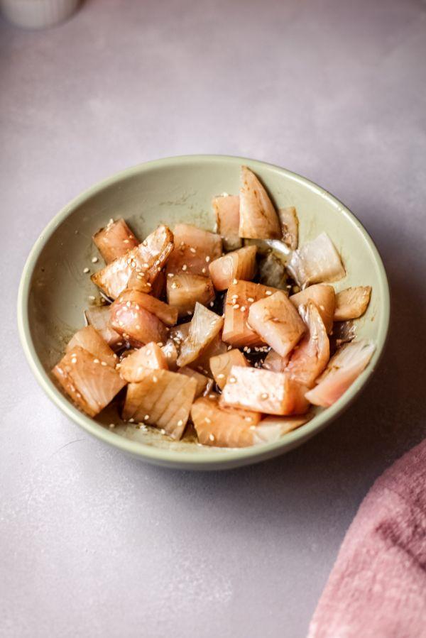 easy steps for air fryer glazed tilapia bowls