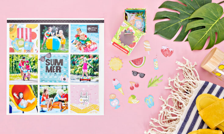 Slap On the Sunscreen Summer Layout