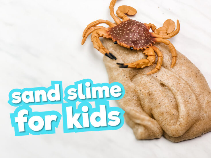 Sand Slime (Without Borax)