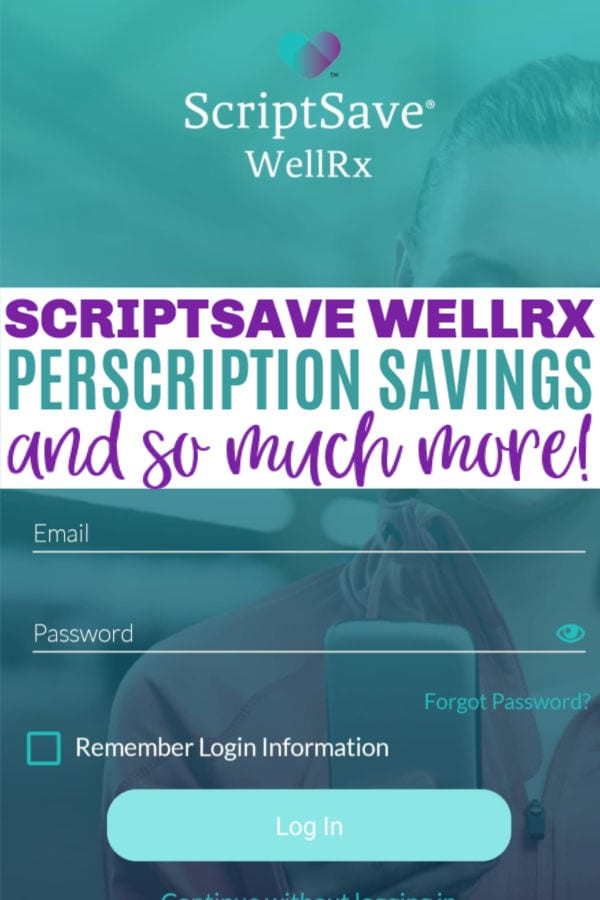 save money on prescriptions with ScriptSave WellRx app