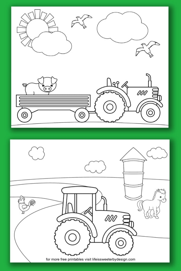 Johnny Tractor Coloring Pages - Coloring Home | 900x600