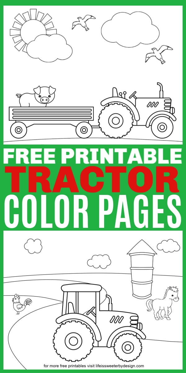 Tractor Coloring Pages Laptrinhx News