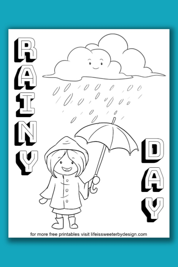 printable weather coloring pages