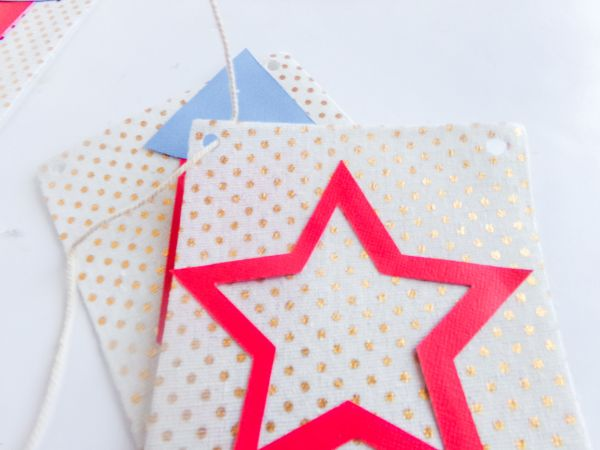 cute DIY 4th of July banner