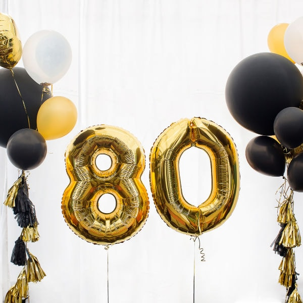 80th birthday ideas for a memorable day