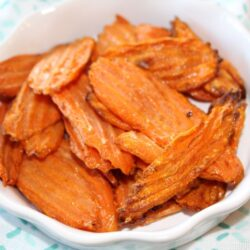 easy air fryer carrot chips
