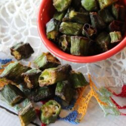 Air Fryer Okra
