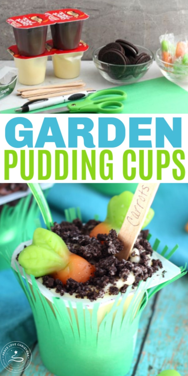 Garden Pudding Cups