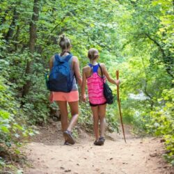 how to make hiking with kids fun