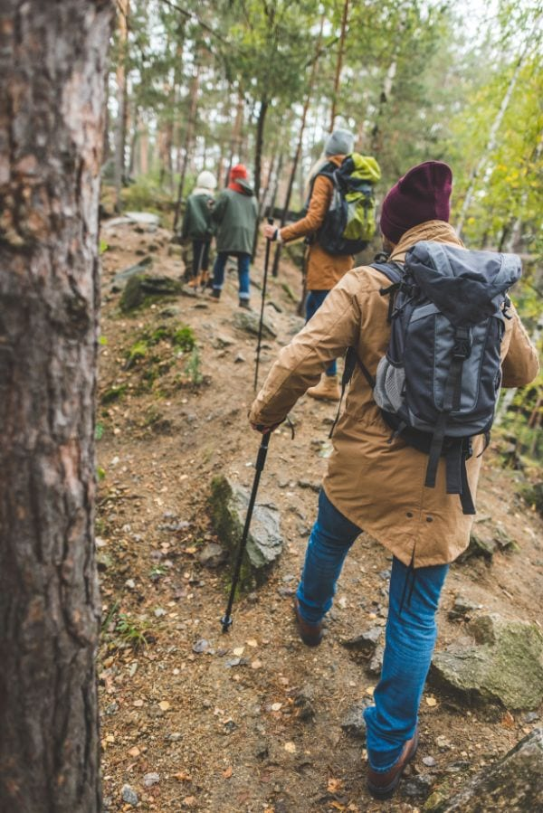 hiking with kids tips to make it more fun