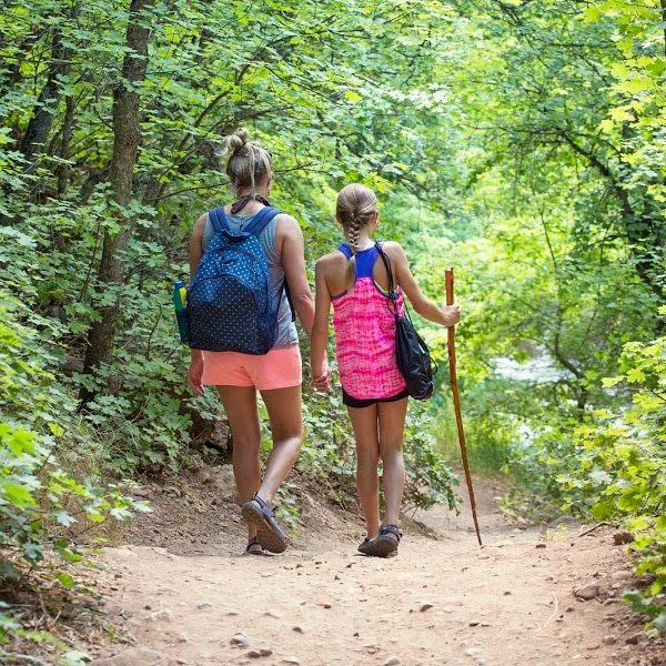 how to make hiking with kids more fun