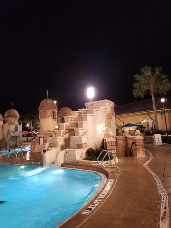 Disney Caribbean Beach Resort main pool