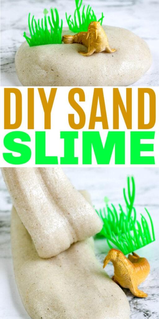 DIY Sand Slime