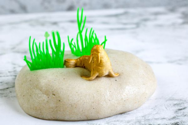 how to make sand slime