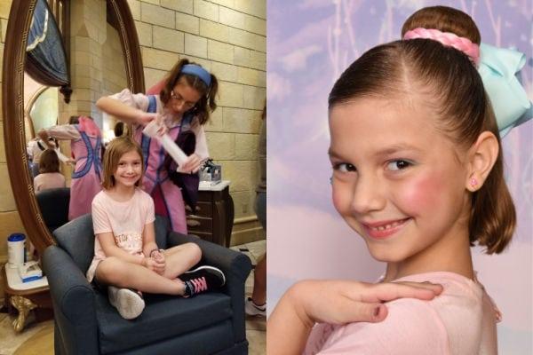 before and after Bibbidi Bobbidi Boutique