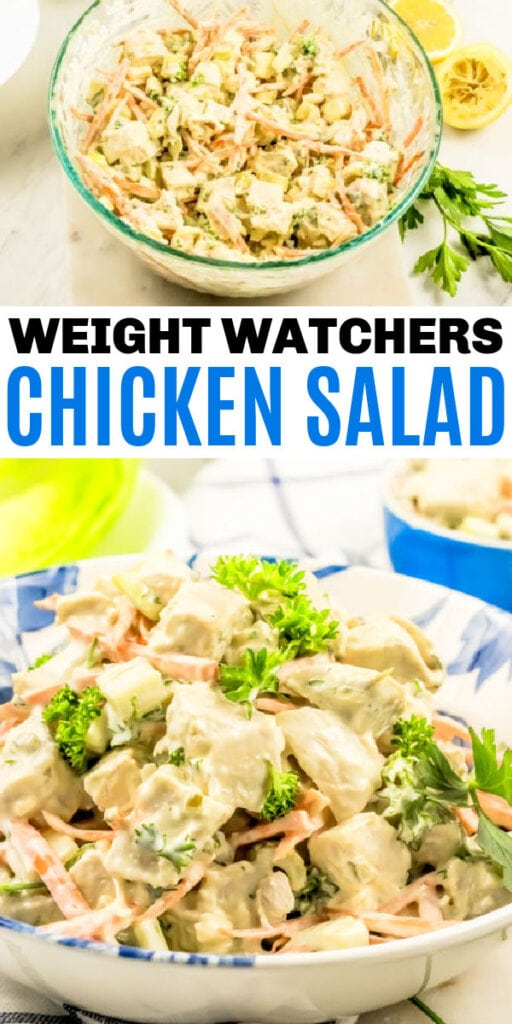 WW Skinny Chicken Salad