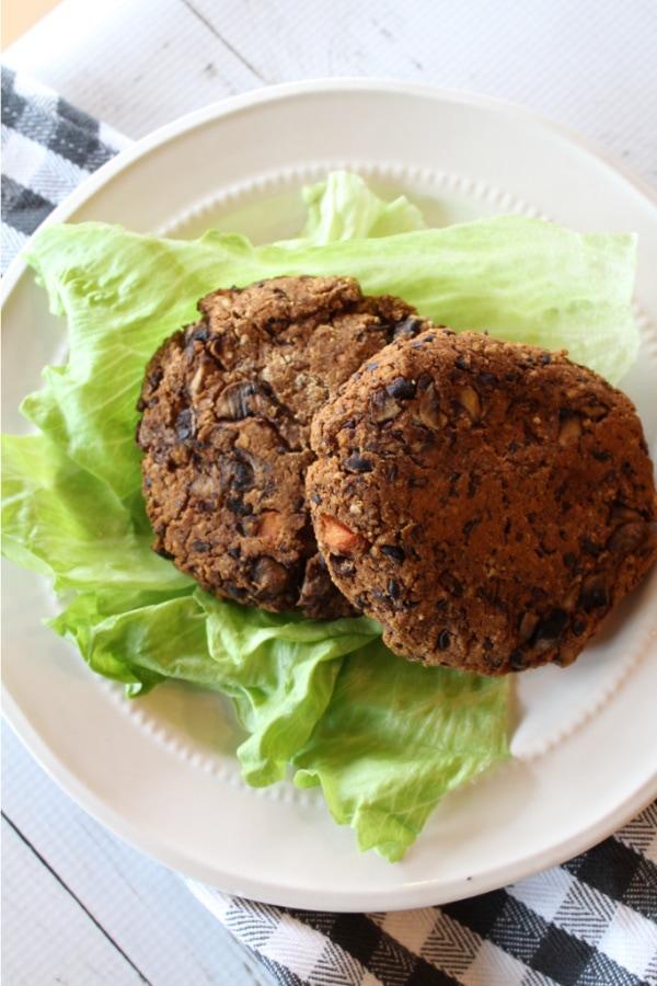 Weight Watchers veggie burger