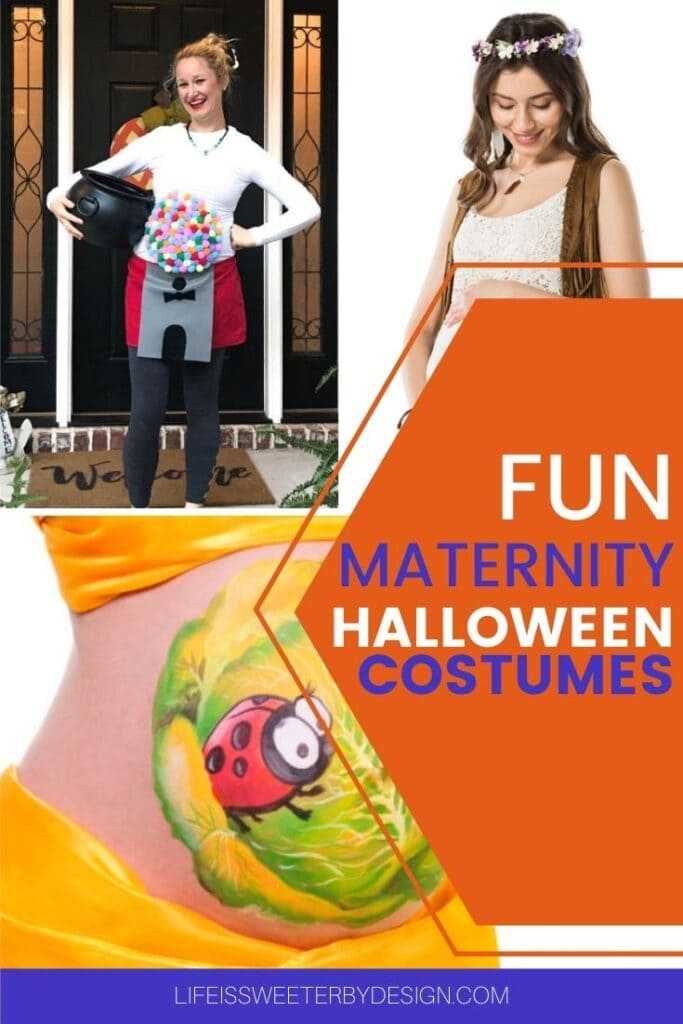 maternity costumes for Halloween