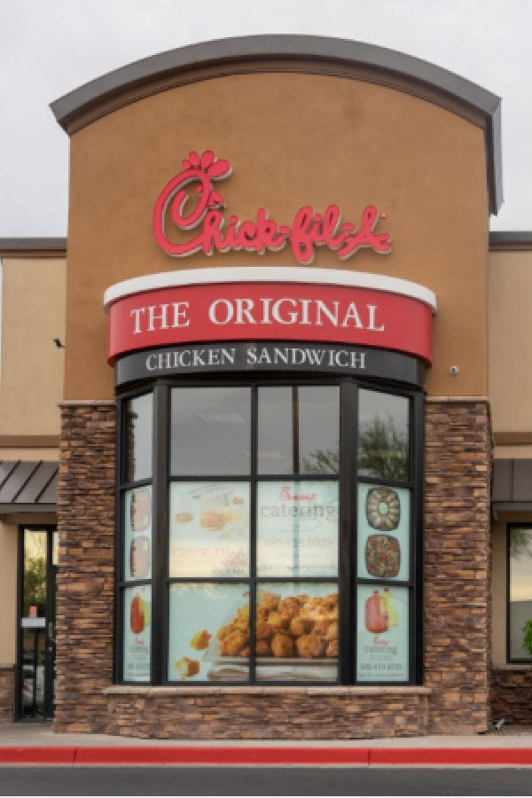 printable Chick-Fil-A points for WW