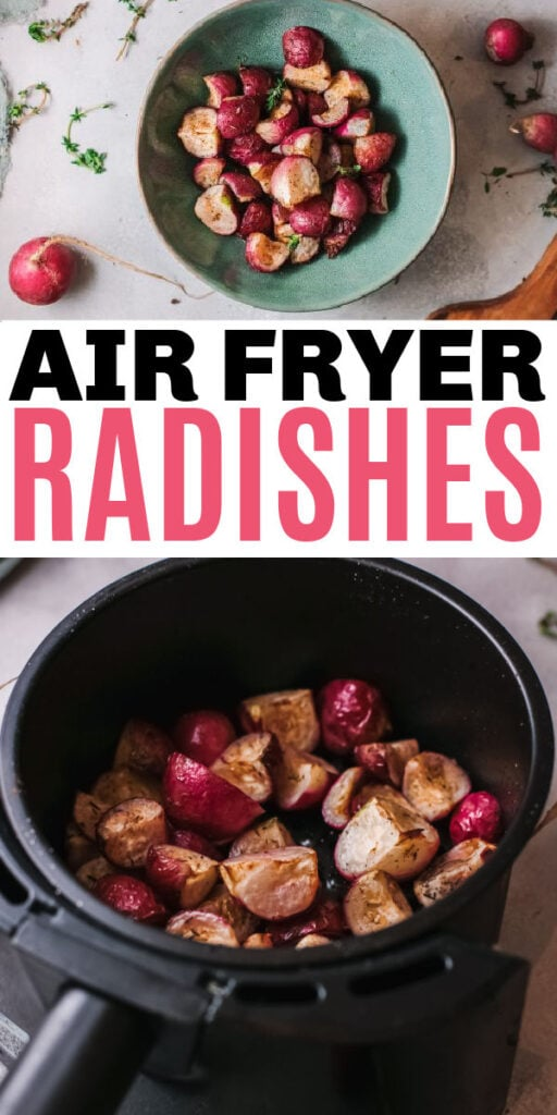 Air Fryer Radishes