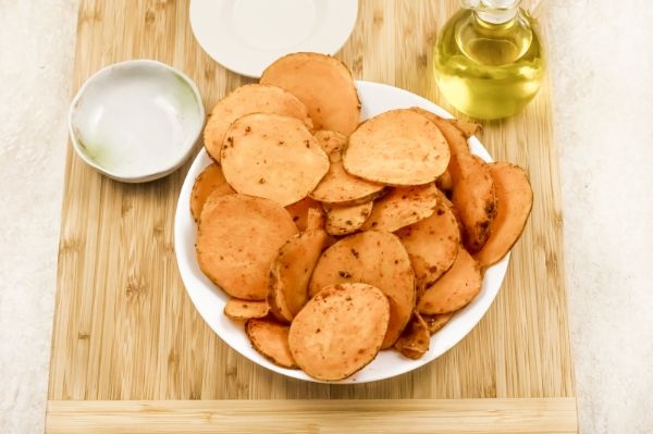 how to season sweet potatoes for air fryer sweet potato chips