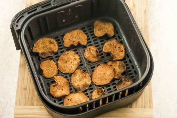 instructions for making air fryer sweet potato chips