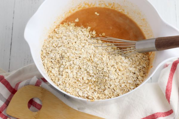 how to make Pumpkin Pie Baked Oatmeal