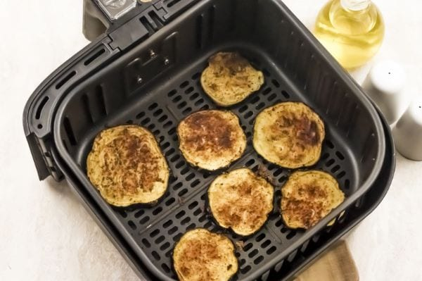 steps for making eggplant in air fryer