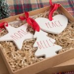 Easy DIY Rae Dunn Ornaments with Cricut