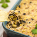 WW Baked Black Bean and Corn Dip