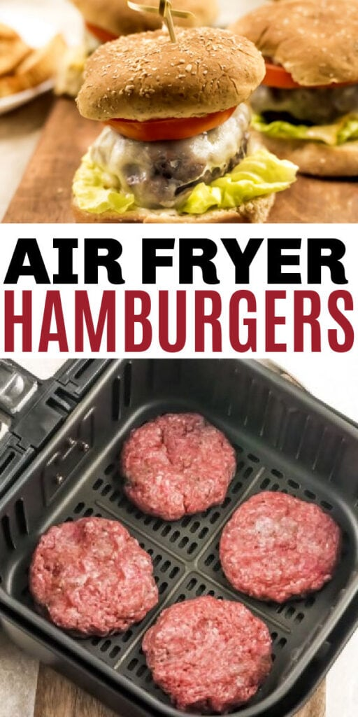 hamburgers in the air fryer