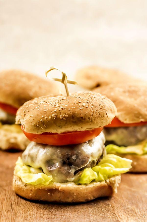 hamburgers in the air fryer