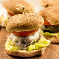 easy hamburgers in the air fryer