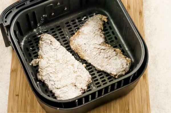 how to cook Air Fryer Chicken Fried Steak