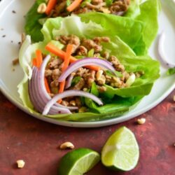 Weight Watchers Thai Lettuce Wraps