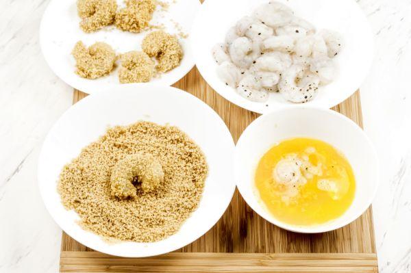 how to bread shrimp for air fryer bang bang shrimp