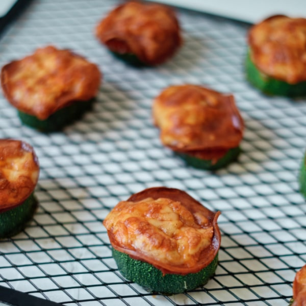 Weight Watchers Zucchini Pizza Appetizers