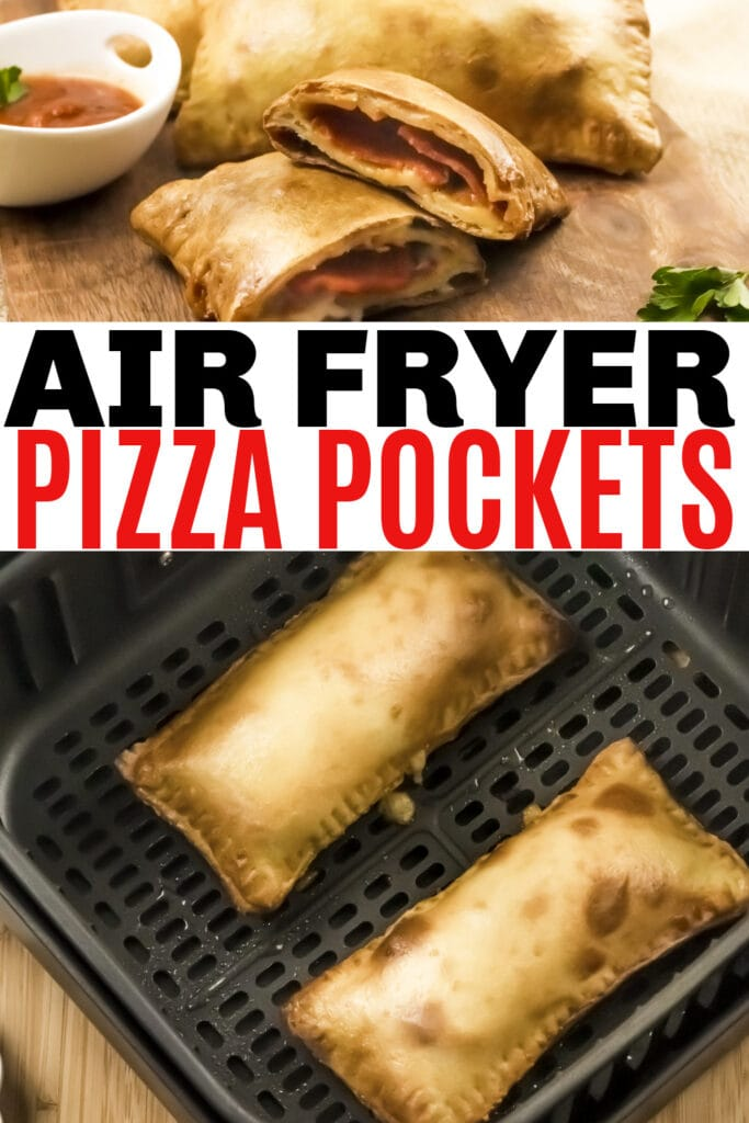 air fryer pizza pockets