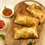 easy air fryer pizza pockets