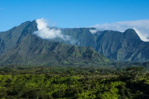 mountains in Kauai