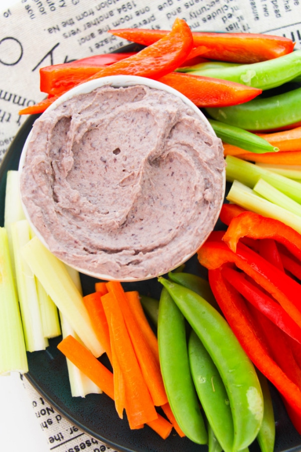 quick and easy Weight Watchers Black Bean Hummus