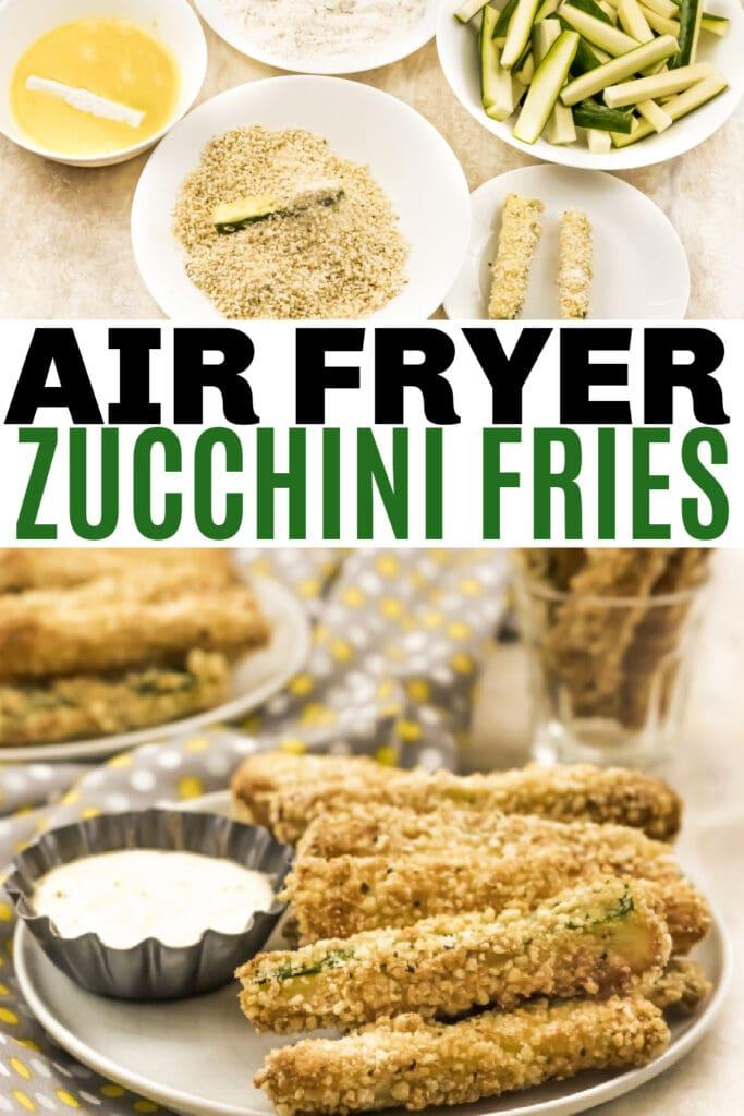 Easy Air Fryer Zucchini Fries