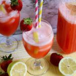 Sugar Free Strawberry Lemonade